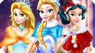 Игра Принцессы Диснея: Рождество В Замке