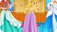 Игра Принцессы Диснея: Салон Для Домашних Животных