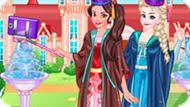 Игра Принцессы Диснея: Селфи Елены И Эльзы