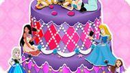 Игра Принцессы Диснея: Селфи На Торте
