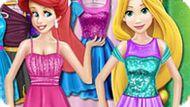 Игра Принцессы Диснея: Шопинг Ариэль И Рапунцель