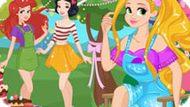Игра Принцессы Диснея: Сладкая Летняя Вечеринка