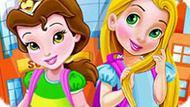 Игра Принцессы Диснея Собираются В Школу