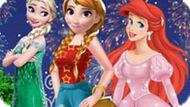 Игра Принцессы Диснея: Современная Одевалка
