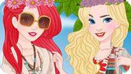 Игра Принцессы Диснея: Стиль Бохо