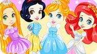 Игра Принцессы Диснея: Стиль Чиби