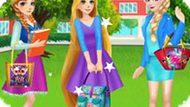 Игра Принцессы Диснея: Сумка Для Колледжа