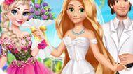 Игра Принцессы Диснея: Свадьба Рапунцель И Флинна
