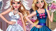Игра Принцессы Диснея: Свадебная Одевалка