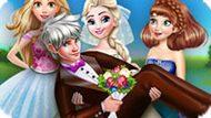 Игра Принцессы Диснея: Свадебное Фото Эльзы
