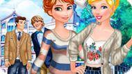 Игра Принцессы Диснея: Свидания В Колледже