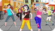 Игра Принцессы Диснея: Танец Зумба