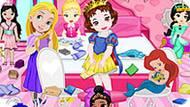 Игра Принцессы Диснея: Уборка Комнаты Принцессы