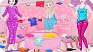 Игра Принцессы Диснея: Уборка После Пижамной Вечеринки