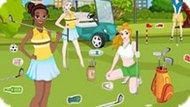 Игра Принцессы Диснея: Уборка В Гольф Клубе