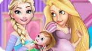 Игра Принцессы Диснея Украшают Комнату Для Ребенка