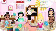 Игра Принцессы Диснея Украшают Школьный Класс