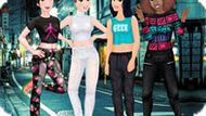 Игра Принцессы Диснея: Уличная Мода