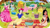 Игра Принцессы Диснея Устроили Пикник