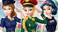 Игра Принцессы Диснея В Полицейской Академии