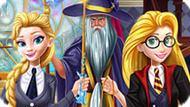 Игра Принцессы Диснея В Школе Магии