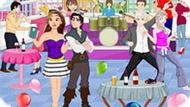 Игра Принцессы Диснея: Вечеринка На Крыше