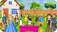 Игра Принцессы Диснея: Вечеринка На Природе