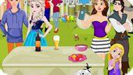 Игра Принцессы Диснея: Вечеринка На Свежем Воздухе