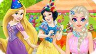 Игра Принцессы Диснея: Вечеринка-Сюрприз Для Эльзы