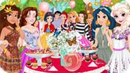 Игра Принцессы Диснея: Вечеринка В Саду