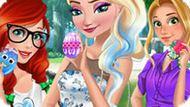 Игра Принцессы Диснея: Веселая Пасха