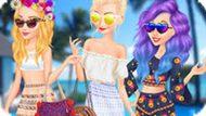 Игра Принцессы Диснея: Весенние Каникулы