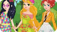 Игра Принцессы Диснея: Весенние Тренды