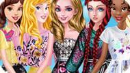 Игра Принцессы Диснея: Весенняя Уличная Мода