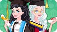Игра Принцессы Диснея: Выпускной Эльзы И Ариэль