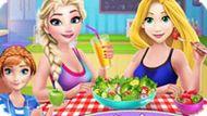 Игра Принцессы Диснея: Здоровое Питание