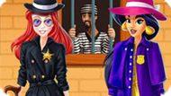 Игра Принцессы Диснея: Жасмин И Ариэль Детективы