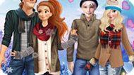 Игра Принцессы Диснея: Зимнее Свидание