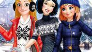 Игра Принцессы Диснея: Зимние Радости