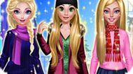 Игра Принцессы Диснея: Зимний День