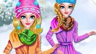 Игра Принцессы Диснея: Зимний Кемпинг
