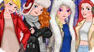 Игра Принцессы Диснея: Зимняя Фотосессия