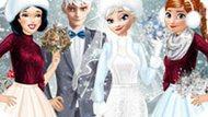 Игра Принцессы Диснея: Зимняя Свадьба Эльзы
