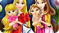 Игра Принцессы Мамы В Торговом Центре