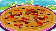 Игра Рыбная Пицца