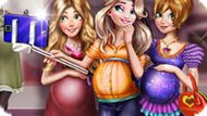 Игра Селфи Беременных Принцесс Диснея