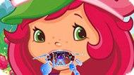 Игра Шарлотта Земляничка 8: Лечить Горло