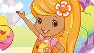 Игра Шарлотта Земляничка: Цвет Для Апельсинки
