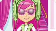 Игра Шарлотта Земляничка: Необычная Мода Малинки