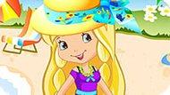 Игра Шарлотта Земляничка: Пляжная Вечеринка Лимоны